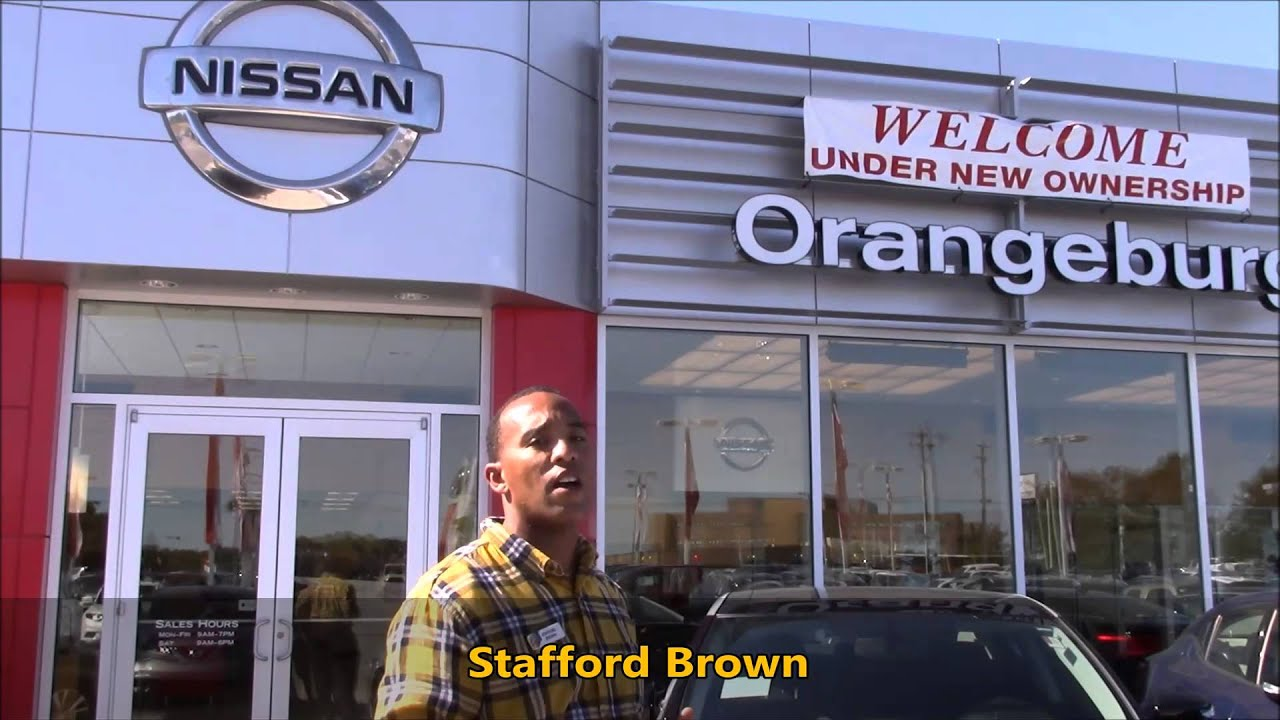 nissan of orangeburg stafford brown welcome video orangeburg sc youtube youtube