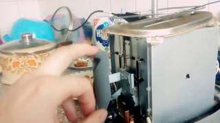 Тостер не фіксується, ремонт тостера.