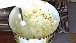 Сливочный крем с орехами для торта. Масляный крем со сгущенкой. Крем, сгущенка, масло.