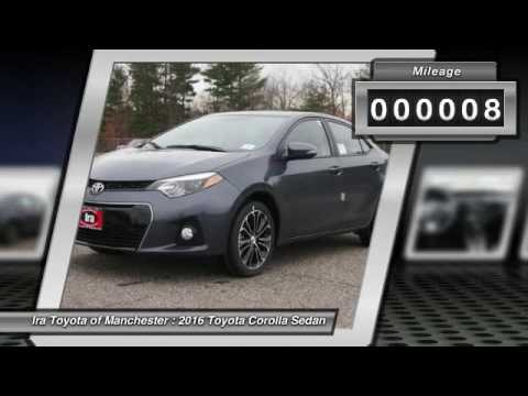 2016 Toyota Corolla Manchester NH GC643183