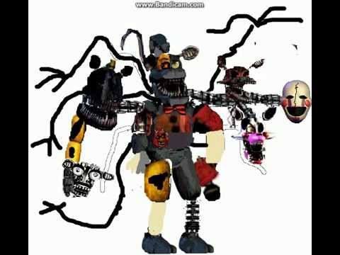 Fnaf Song Withered Hybrid Shapeshifter Youtube