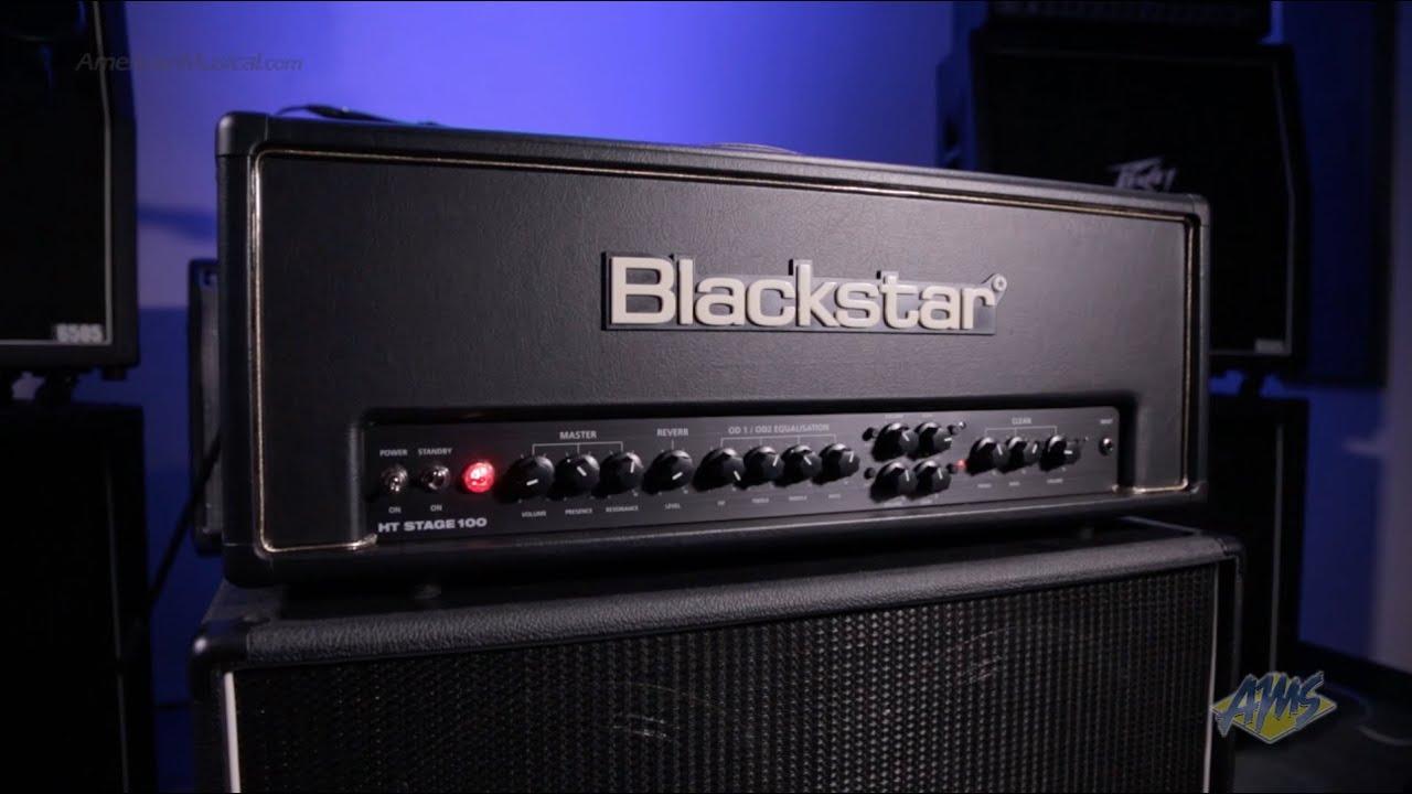 Blackstar Ht Stage 100 Guitar Amplifier Head