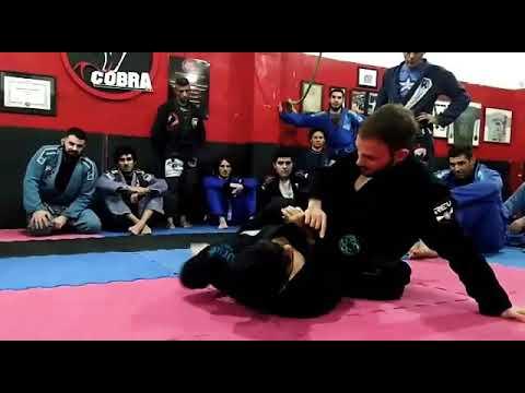 BJJ - Y Guard - Advance flow to the back - Felipe Costa JiuJitsu