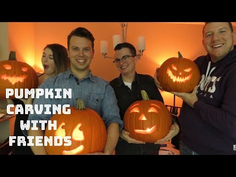 Pumpkin Carving with Friends