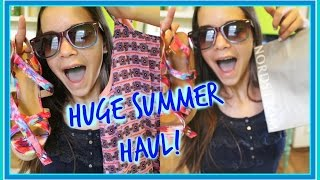 SUMMER HAUL 2016 | Clothing, Shoes, Accsessories