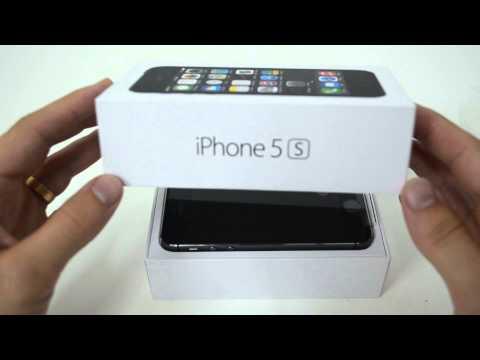 Распаковка IPhone 5S из США / Unboxing IPhone 5S From The USA