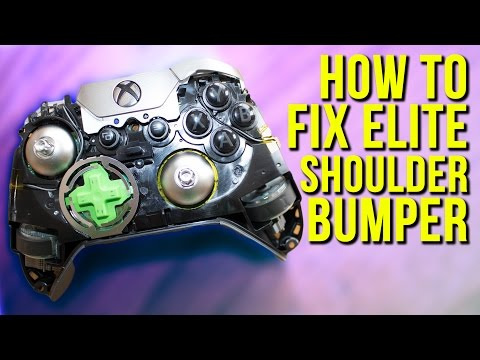 How to Fix & Replace a Broken Bumper on an Xbox One