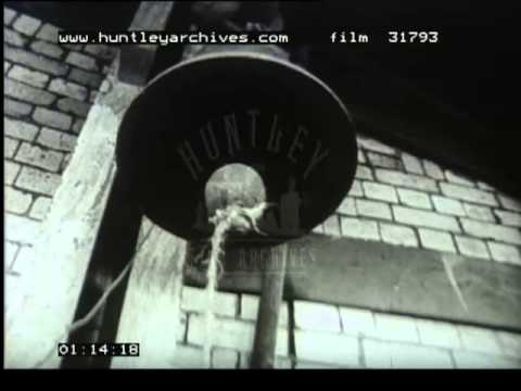 Pontardawe industrial works in south Wales, 1960's -- Film 31793