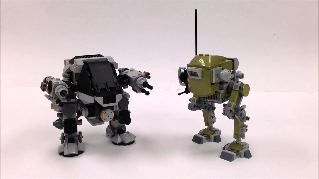 lego mech moc instructions