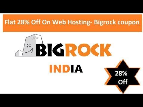 BigRock web hosting coupon code 2019    BigRock coupons