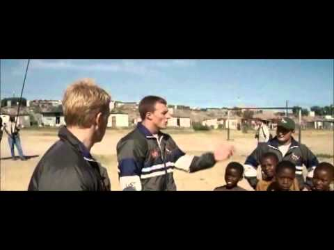 Invictus (best scene) playing with kids poster