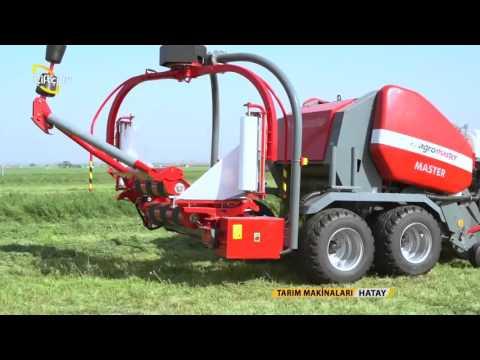Tarim Makinalari Agromaster Silindirik Rulo Balya Makinesi