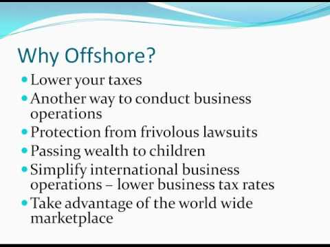 The Offshore Idea - Protecting Your Wealth