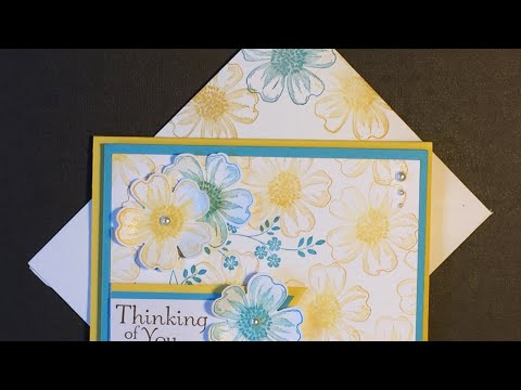Stampin' Up! Flower  Shop and Pansy Punch