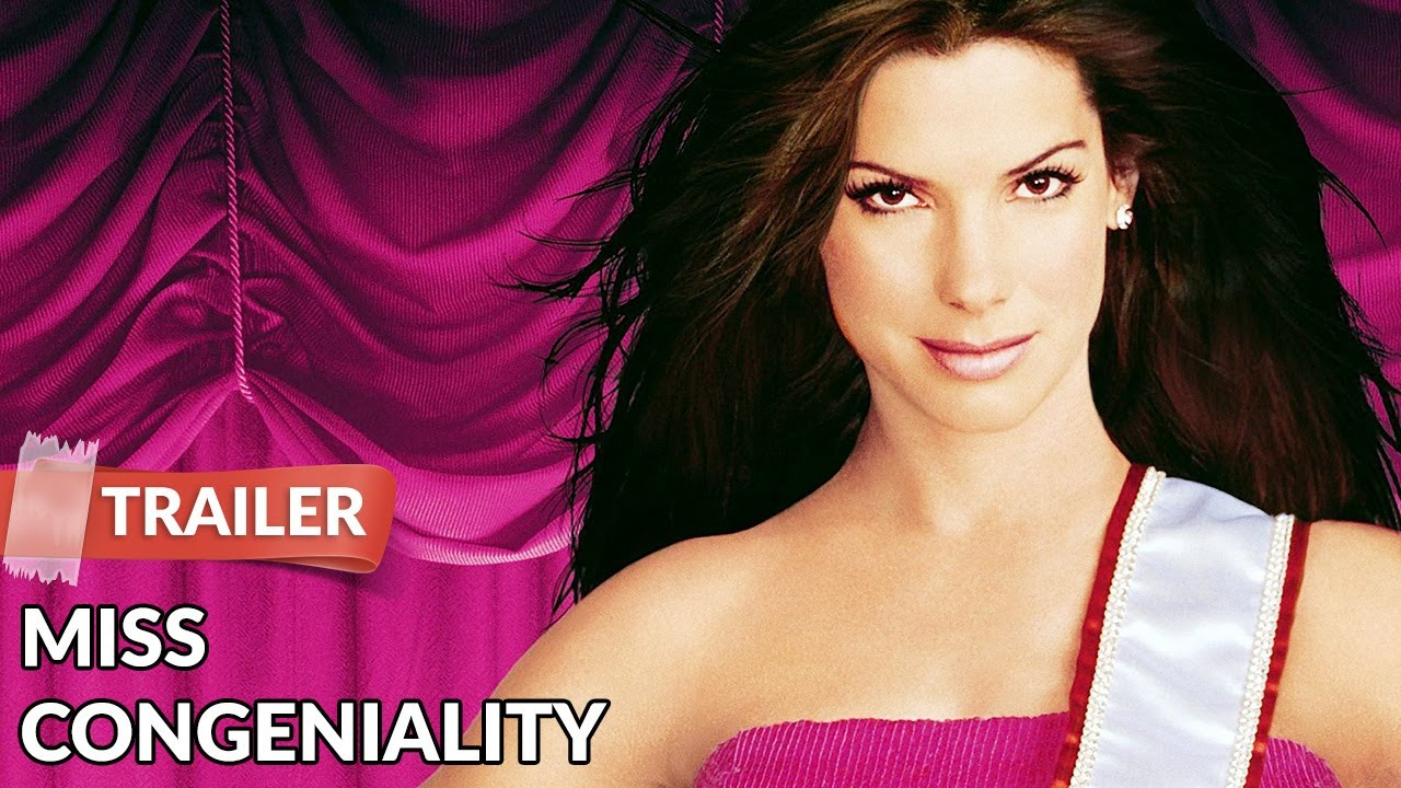 Miss Congeniality 2000 Trailer Hd Sandra Bullock Michael Caine Youtube