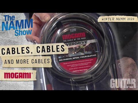 Winter NAMM 2020: Mogami Shows of Their Newest Instrument Cables