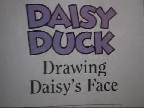 how to draw daffy duck face step by step