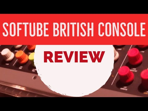 Softube Console 1 British Class A Introduccion | AlexProMix.com