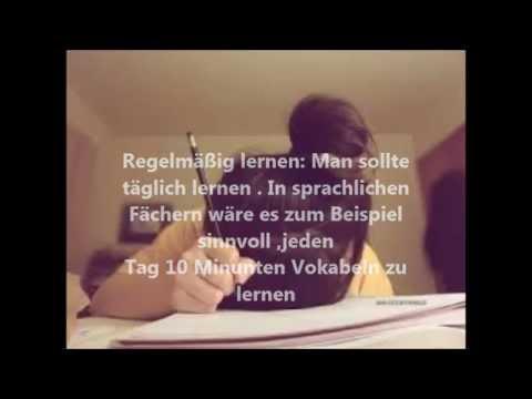 Back to School Teil 2 Richtiges Lernen (Deutsch)