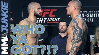 UFC Moncton: Who Ya Got?!? Volkan vs. Smith