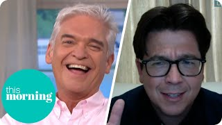 Michael McIntyre Has Phillip &amp Holly In Fits Of Laughter  This Morning