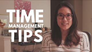How I Manage My Time   Time Management Tips from a Med School Student