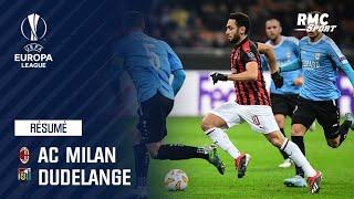 Résumé : AC Milan – Dudelange (5-2) - Ligue Europa