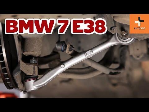 Wymiana wahacz przedni BMW 7 E38 Tutorial | Autodoc