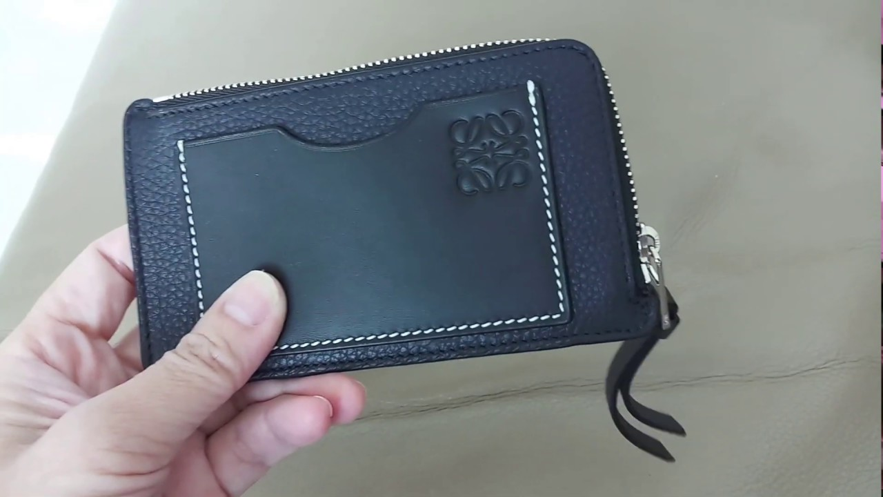 c61d9c32fb [Unboxing] Loewe Coin / Card Holder and Wish List for 2019