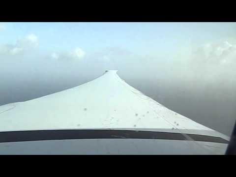 Pre-Landing in Fort de France FDF -- Air France Boeing 777-300ER