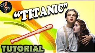 Como tocar TITANIC en flauta | Notas de canciones en flauta dulce