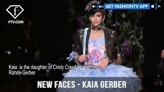 Kaia Gerber from Top Models in the World New Faces Spring/Summer 2018 | FashionTV | FTV