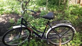 """Велосипед Orion Romet - Орион Ромет дорожный типа Украина, аист на 28"""" колесах, женский, обзор"""