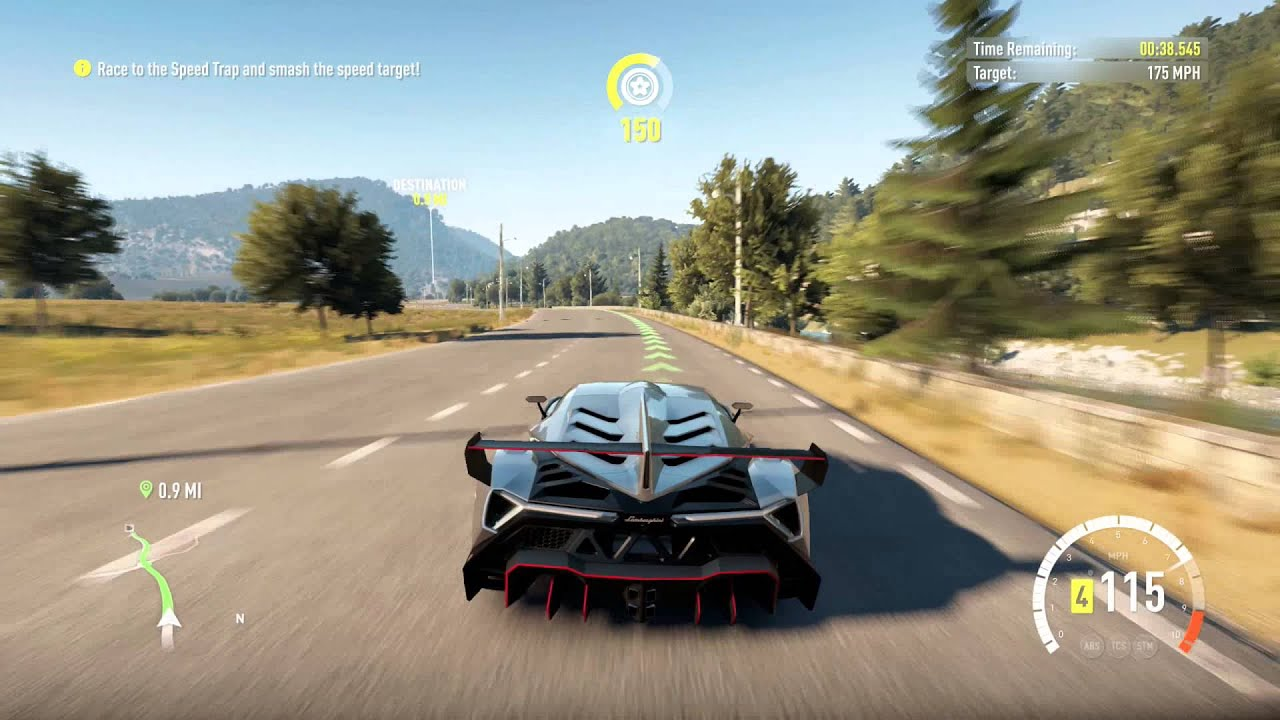 Forza Horizon 2 Bucket List 12 Lamborghini Veneno Xbox One 1440p Youtube