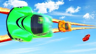 Download MILE HIGH VERTICAL FIRE TIGHTROPE! (GTA 5 Funny Moments) Mp3 and Videos