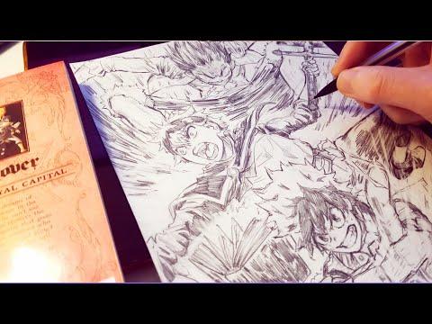 Drawing Izuku Midoriya Asta and Luffy! New SHONEN Big 3