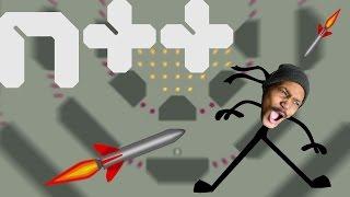 NINJA PLATFORMER RAGE!!!111!! | N++ (Gameplay)