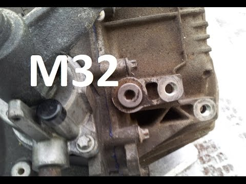 How to change oil in M32 gearbox Astra Zafira Vectra Saab Alfa Romeo Fiat  replace