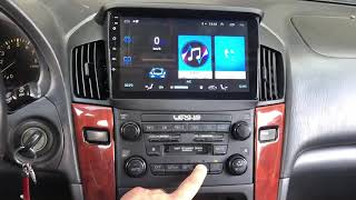 2000 LEXUS RX300 Radio Multifunctional Android car (RX300 Android inside)