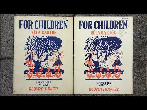 Bartók - For Children, Sz.42 (Complete recording)