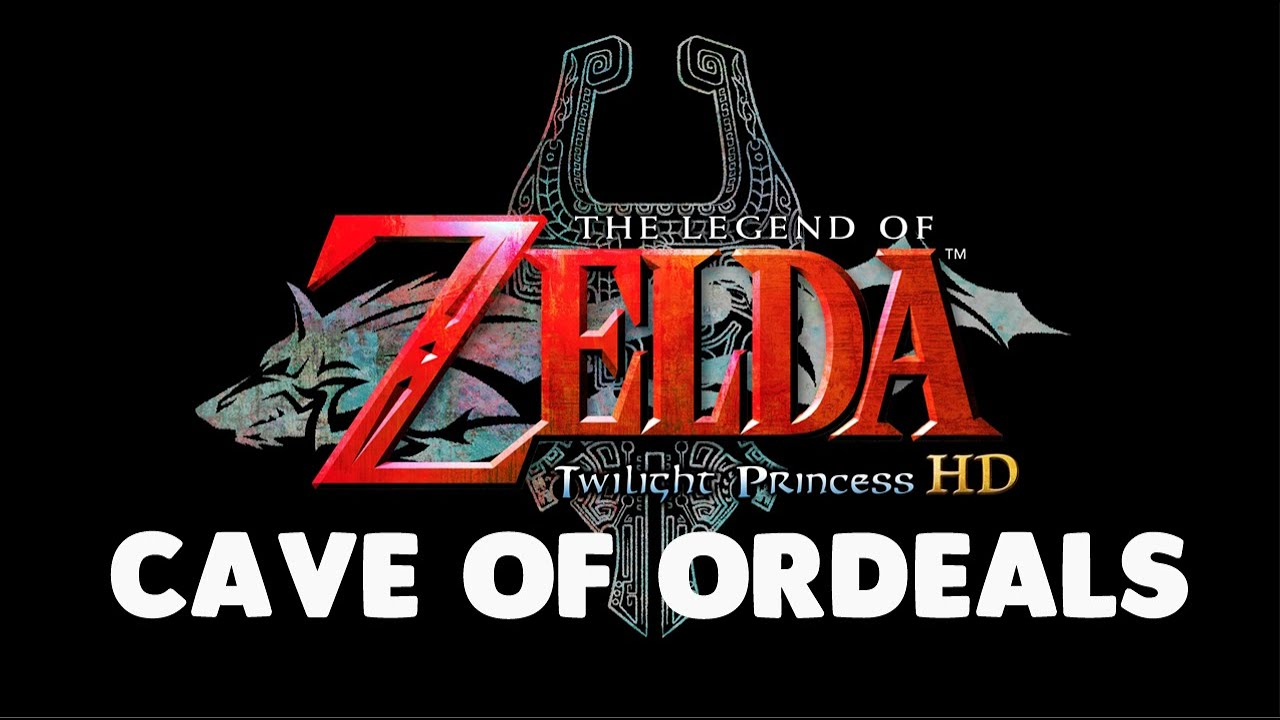 Twilight Princess Playthrough Cave of Ordeals | PointCrow VOD