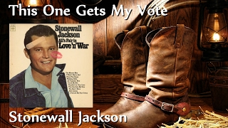 Watch Stonewall Jackson This One Gets My Vote video