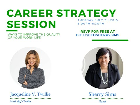 Career Strategy Session with Sherry Sims