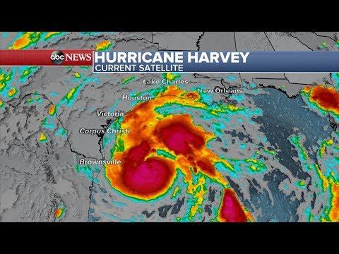 Hurricane Harvey live stream: Storm makes landfall in Texas