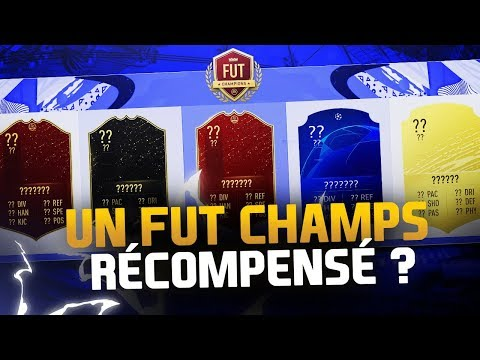UN FUT CHAMPIONS RÉCOMPENSÉ ?