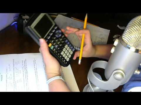 ASMR Math Tutor