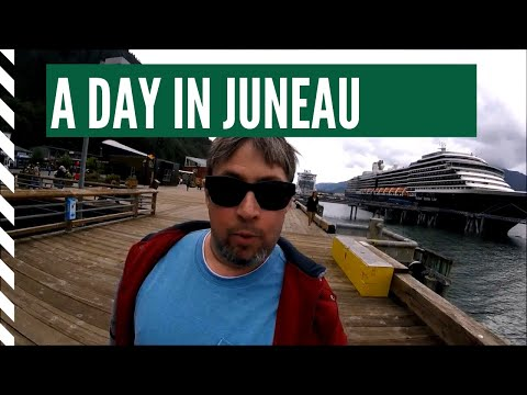 ALASKA CRUISE - A DAY IN JUNEAU - DAY 4