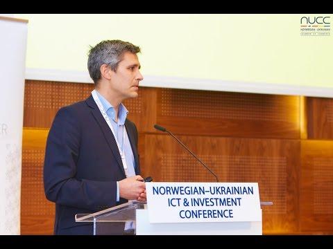 Geir Anders Gløtvold at Norwegian-Ukrainian ICT & Investment Conference, Oslo, Nov 11, 2015