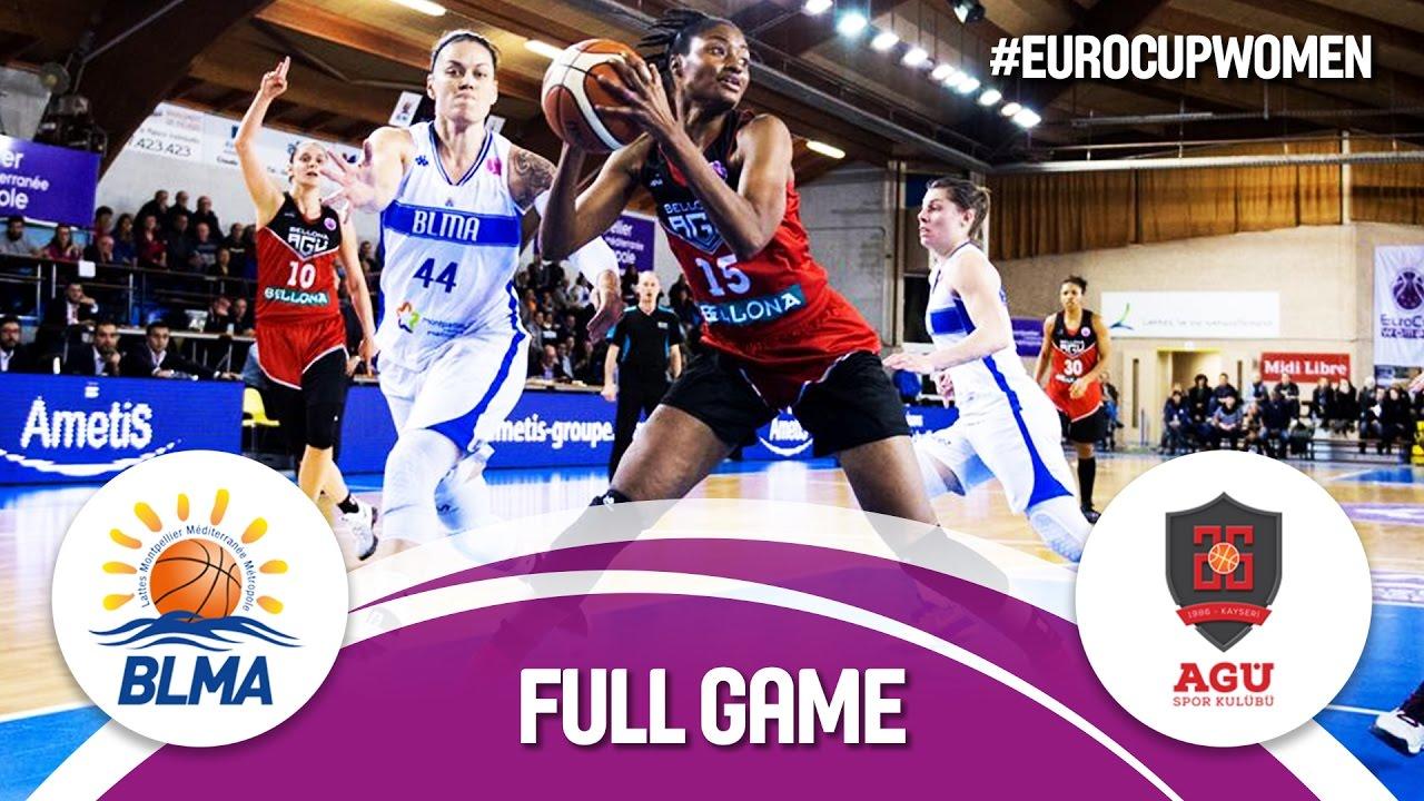 Quarter-Finals: BLMA (FRA) v Bellona AGÜ (TUR)