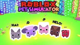MY PETS ARE CUTE..? 😂 | Roblox Pet Simulator Indonesia